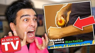 THIS WAS ON TV?! The Worst Infomercials REACTION! **HILARIOUS**