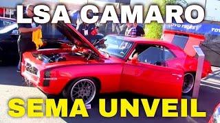 Supercharged LSA powered Pro-Touring 1969 Camaro