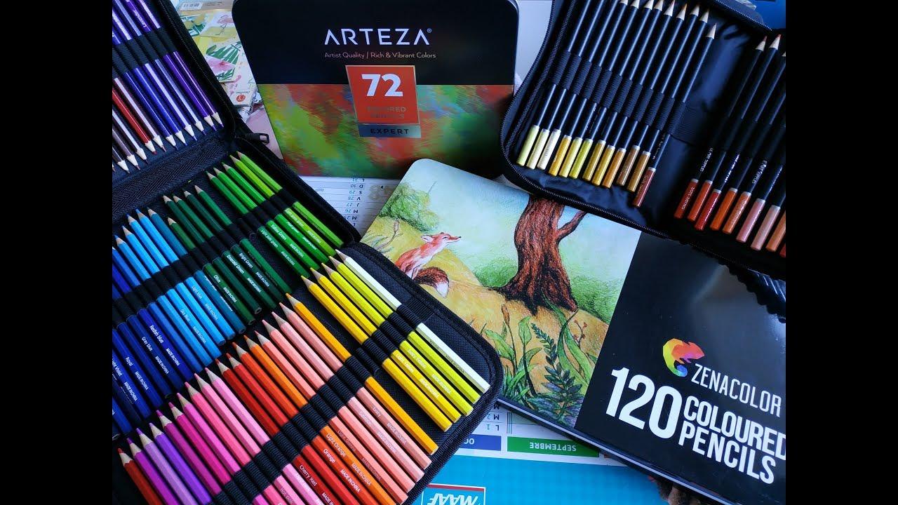 Avis sur différents crayons de couleur + Annonce Disney ...