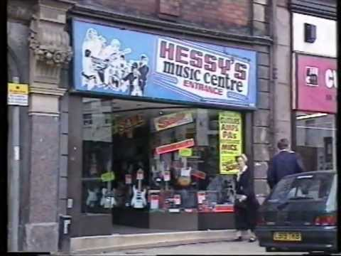 BEATLES LIVERPOOL GUITAR SHOP FRANK HESSY'S CLOSES.