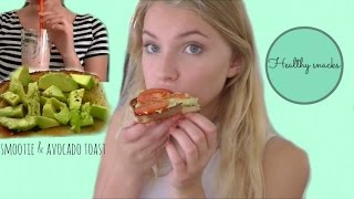 healthy after school snacks♥ Thumbnail