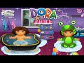 Dora Bathing Walkthrough - Dora The Explorer Game Episode For Children | Baby Girl Games