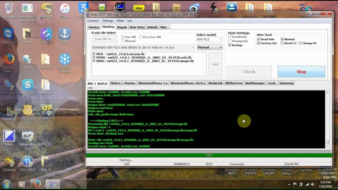 Nokia Asha 503 Rm 922 Flashing By Infinitybox Best Youtube 9300 Service Manual