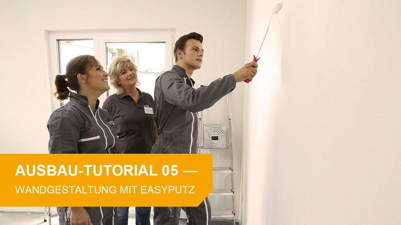 Fabulous Ausbau-Tutorial #5: Wandgestaltung mit Easy-Putz - YouTube OY38
