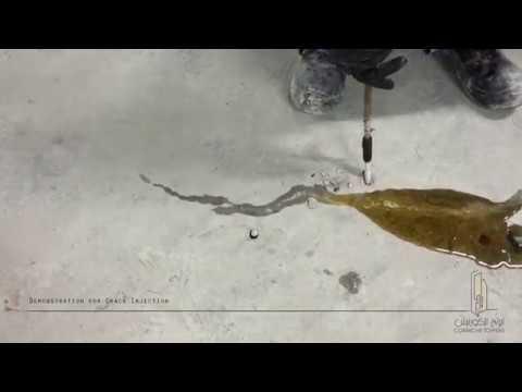 Corniche Towers Qatar - Crack Injection