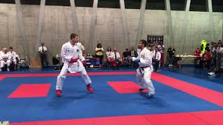 Download Video Basel Open Masters 2018- Senior Male Kumite -75kg: Aghayev (AZE) vs Kellaway (ENG) MP3 3GP MP4