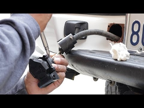 [SCHEMATICS_48EU]  How to repair trailer harness on 2nd gen toyota tacoma -NorCal  overlanders-Vlog 5 - YouTube | 2009 Toyota Tacoma Trailer Wiring |  | YouTube