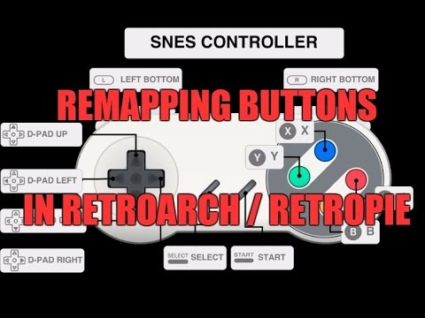 RetroArch: Remapping your controller (I used RetroPie)