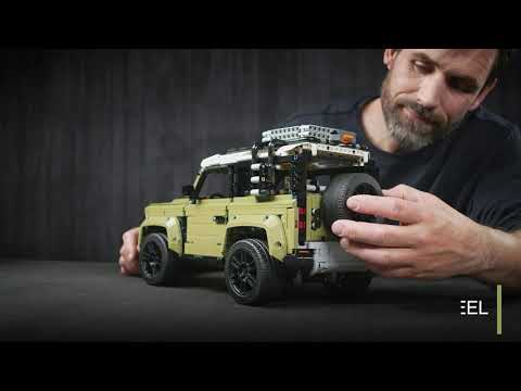 LEGO Has Released a Highly-Realistic Technic Land Rover Defender Alongside Launch of the Real Car