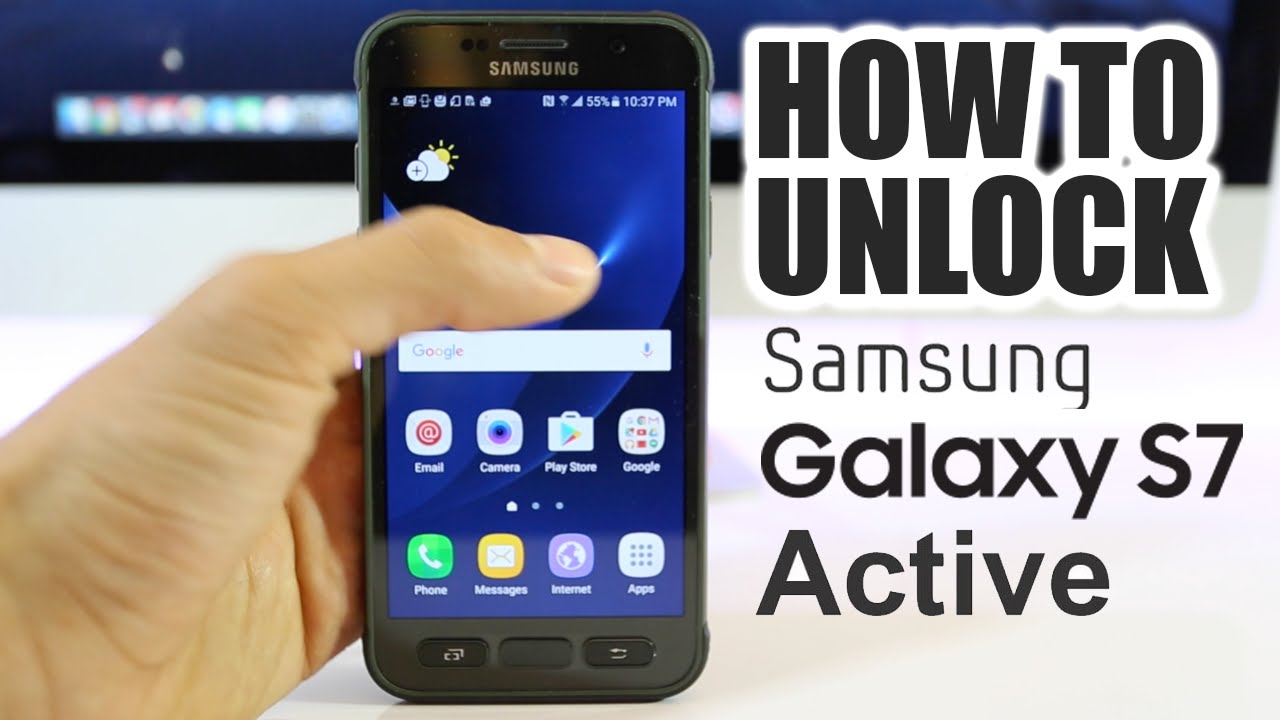 How To Unlock Samsung Galaxy S7 Active | AT&T | Step-by-step!