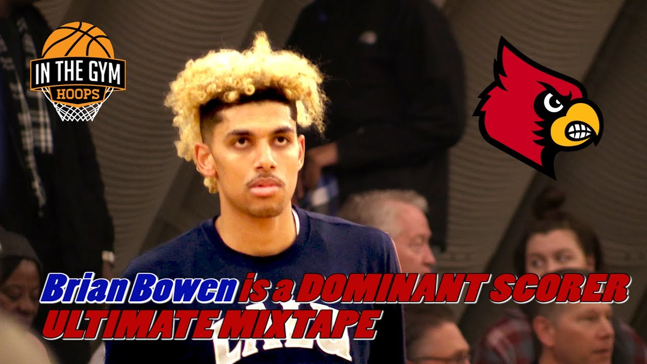 Louisville Commit Brian Bowen is a DOMINANT Scorer! ULTIMATE InTheGymHoops Mixtape!