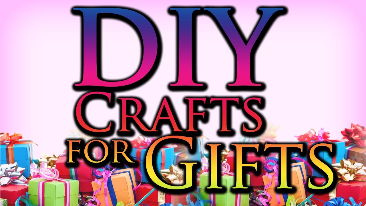 Easy Christmas Craft Ideas To Sell Part - 46: DIY Craft Ideas For Gifts - YouTube