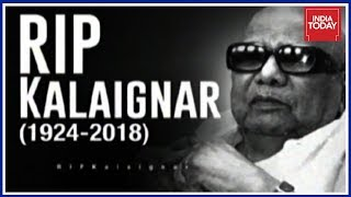 Karunanidhi 1924-2018 | LIVE UPDATES From Rajaji Hall In Chennai