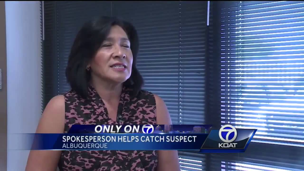 Download VIDEO: Interviewee slows woman fleeing police