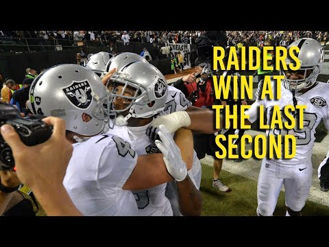 Analysis: How the Raiders pulled off that last-second win