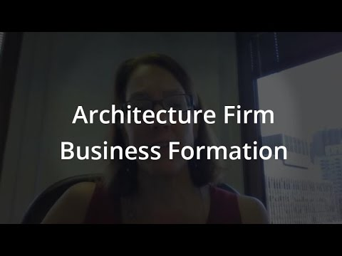 Business Formation For Architects