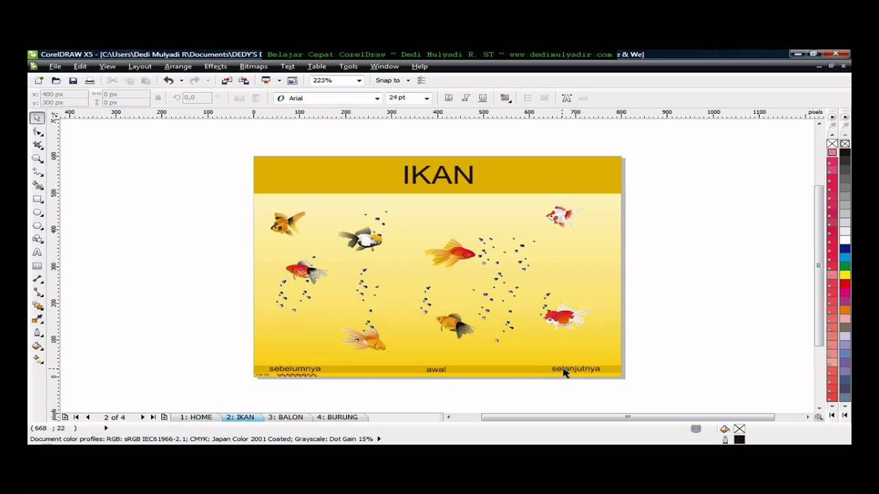 Pdf Interactive Use Corel Draw Tutorial Corel Draw Tips And Trick