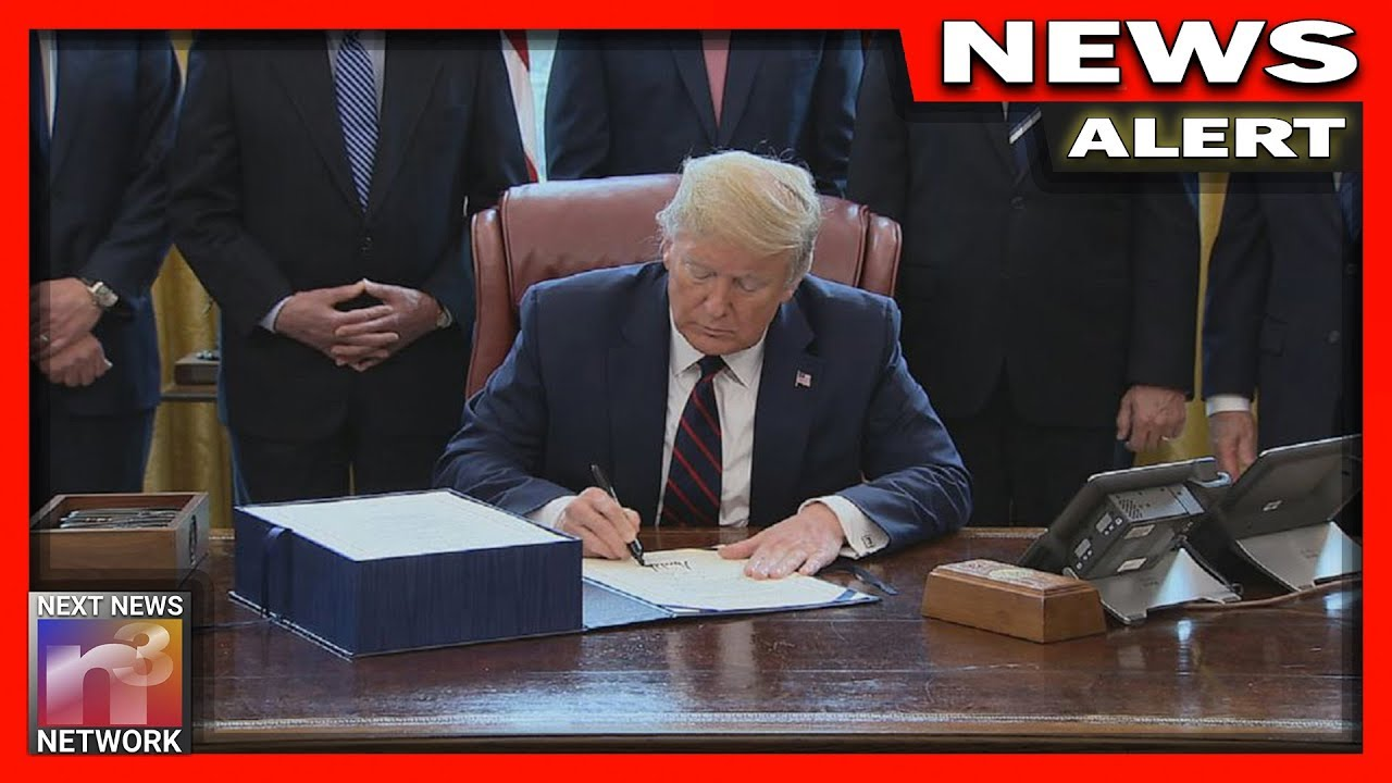 Trump Signals MASSIVE Executive Order Coming That Will Keep America Moving Through this Crisis!