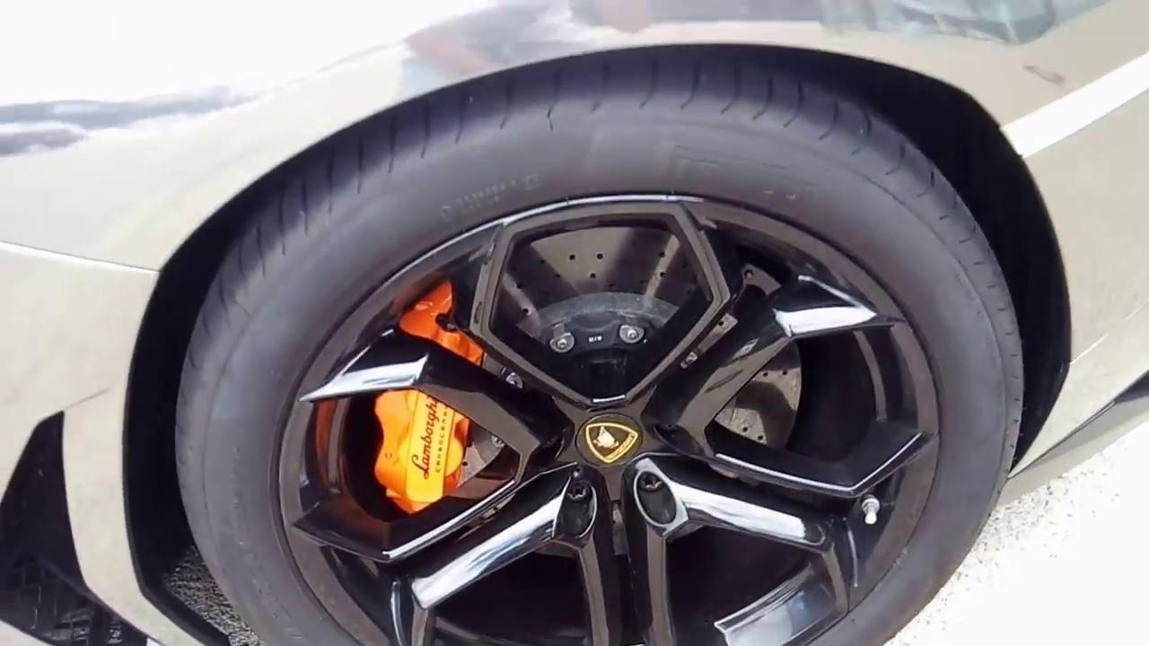 Lamborghini Aventador chorme wrapped