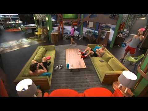 BB16 8/05 8:57pm - Zach Likes Frankie Trying to Turn Him Gay, Marriage & Surrogate Babies