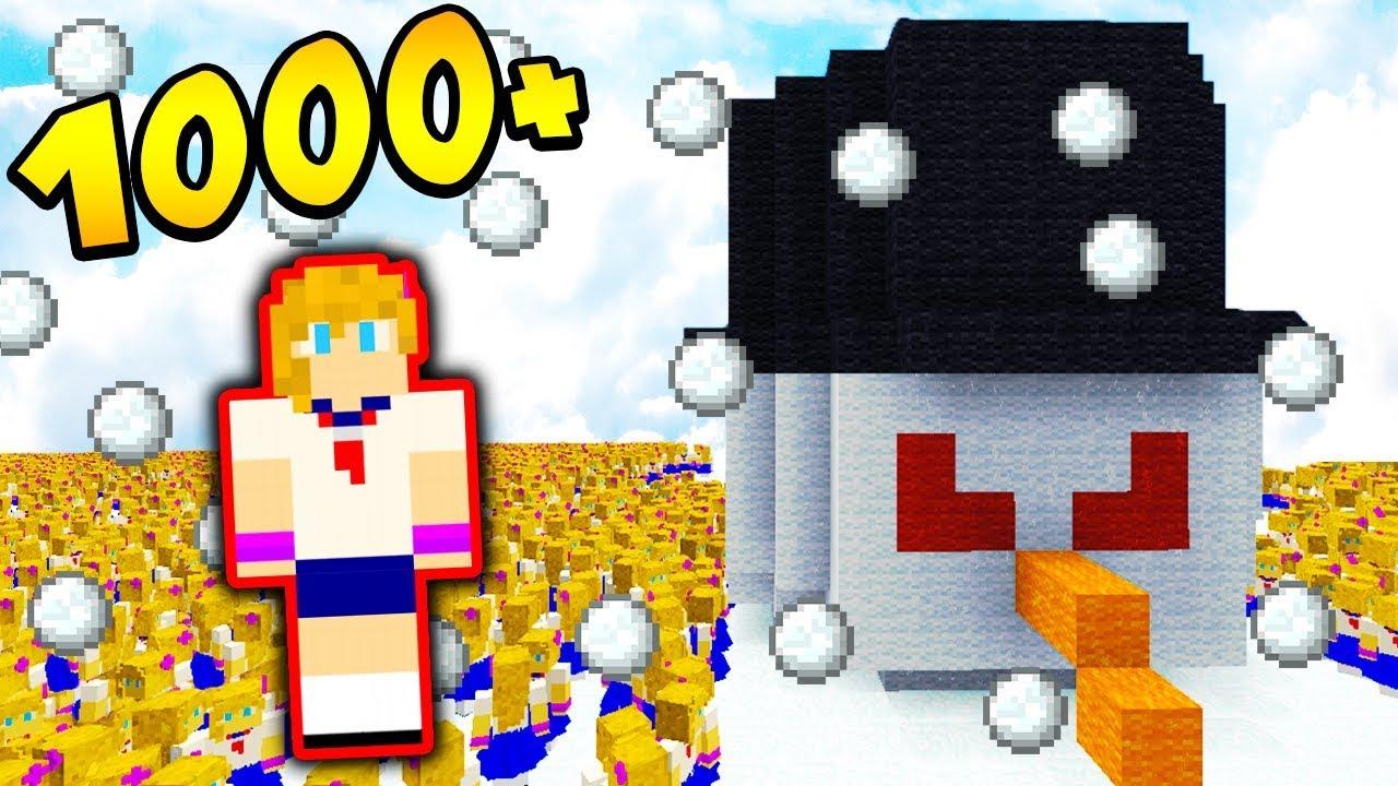 1000 DAMIANEK vs ZŁY BAŁWAN.EXE!!!! – MINECRAFT APOKALIPSA #28