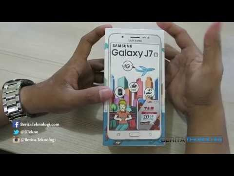 Samsung Galaxy J7 2016 Indonesia Unboxing