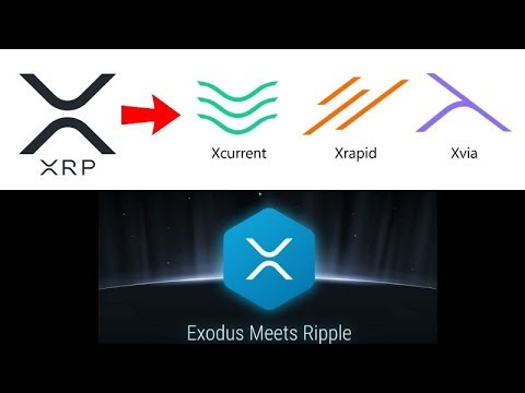 Ripple Convergence XRapid + XCurrent + XVia - Exodus Wallet XRP - California Political Crypto