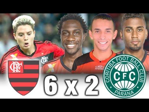 Flamengo 6 x 2 Coritiba * Copa São Paulo 2011 * Melhores Momentos + Gols do Flamengo