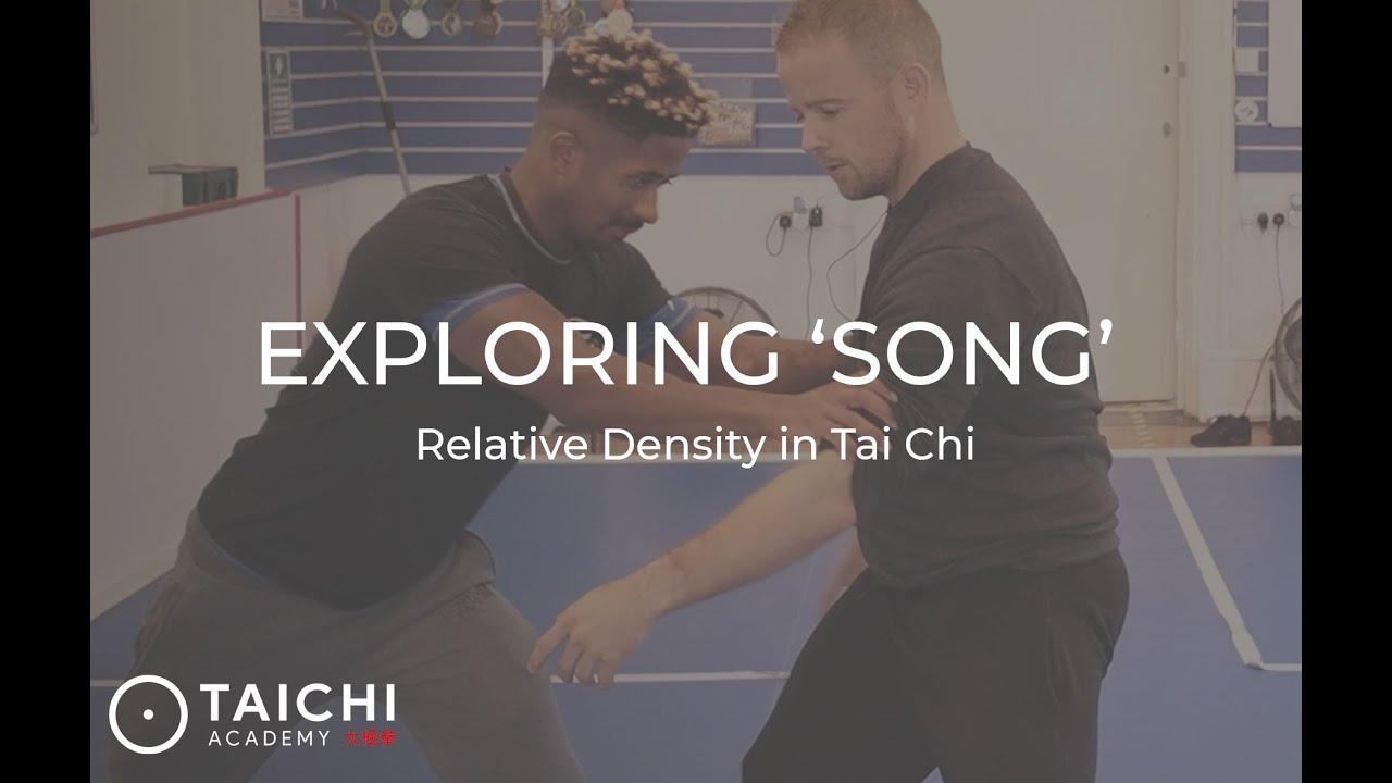 Song in Tai Chi Chuan - Relative Density