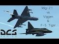 DCS Mig-21 contre AJS-37 Viggen & F-5 (Multijoueur), check-six