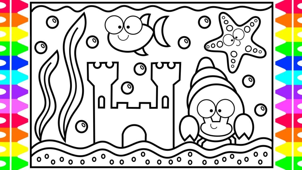 Aquarium Coloring Pages - Best Coloring Pages For Kids   720x1280
