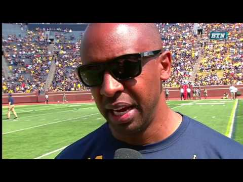 Pep Hamilton Interview - Michigan Spring Football