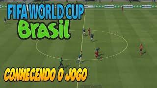 FIFA WORLD CUP 2014 GAMEPLAY - A MELHOR JOGABILIDADE ?? BRASIL X MEXICO