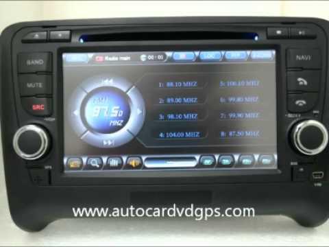 2006 2011 audi tt radio dvd gps navigation stereo headunit autoradio. Black Bedroom Furniture Sets. Home Design Ideas