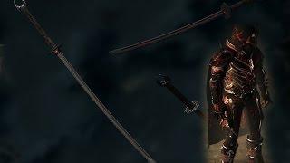Skyrim обзор модов: Даэдрическая Броня Ассассина; Набор Катан.