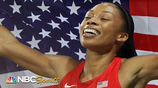 Allyson Felix wins long awaited 200m gold in London | Olympic Games Week | NBC Sports