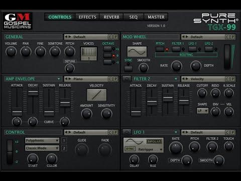 TGX-99 :: Yamaha SY99/TG77 Sample Library for UVI