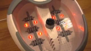 Массажная ванночка для ног Beurer FB50 Обзор