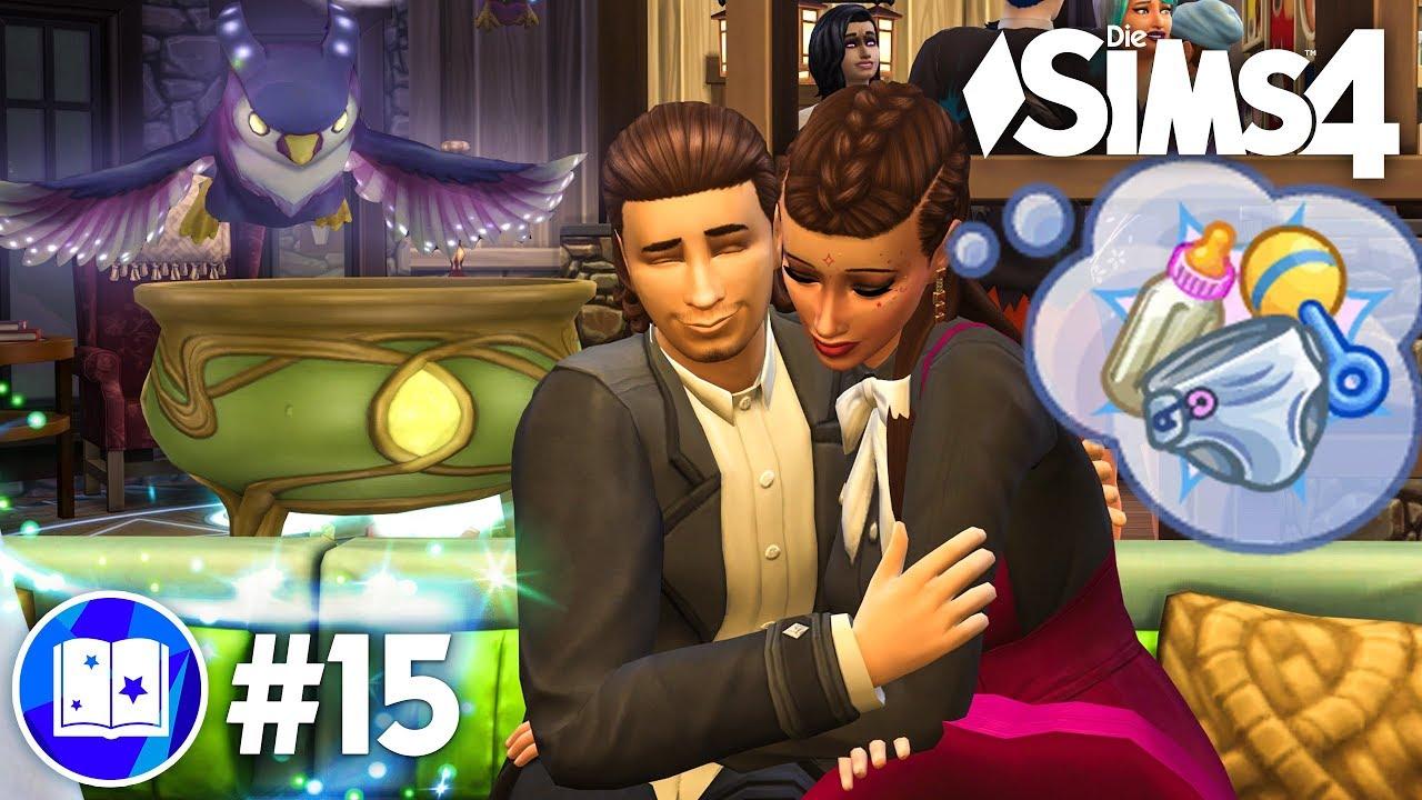 Ein Magier Baby Let S Play Die Sims 4 Reich Der Magie Gameplay Pack 15 Youtube