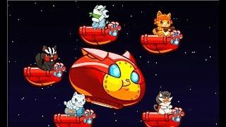 КОШАЧИЙ ОТРЯД #4 – Детский игровой мультик для детей! Naughty Kitties