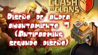 Diseño de aldea ayuntamiento 7 (Antifarming segundo diseño) -Clash of clans #18