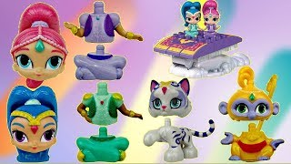 Nick Jr. SHIMMER AND SHINE Megabloks Magic Carpet Building Set Lego, Nahal Tala Toy SURPRISE / TUYC