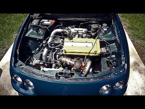 GOODBYE TURBOCHARGED B20 VTEC!  - K24 Integra Build (EP.1)