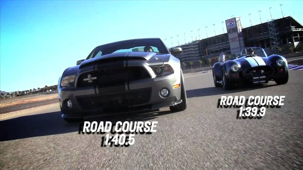 2011 Super Snake vs 427 Cobra - Baddest Shelby Ever - YouTube