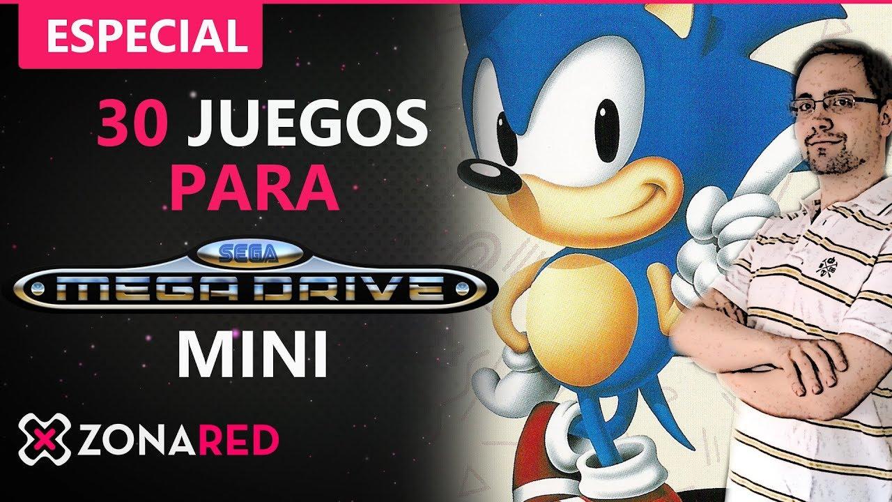 Mega Drive Mini 30 Juegos Imprescindibles En La Consola Sega