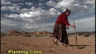 Corn Planting - Navajo Tradition Monument Valley