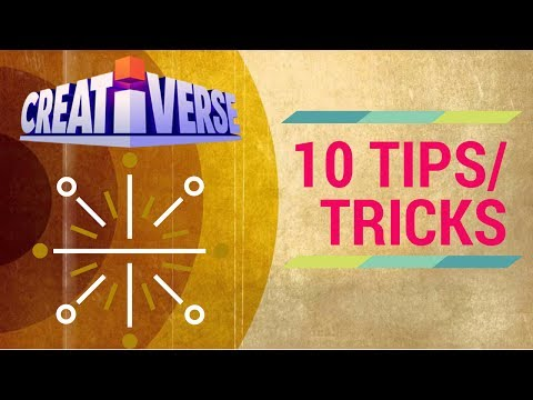 Creativerse : 10 Tips/Tricks YOU Should Know!