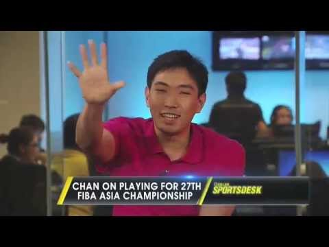 Gilas-Pilipinas shooter Jeff Chan guests on the Solar Sports Desk