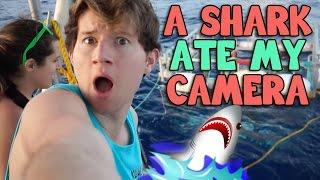 A SHARK ATE MY CAMERA IN HAWAII