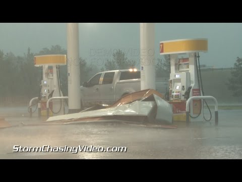10/2/2014 North Texas High Winds & Damage B-Roll